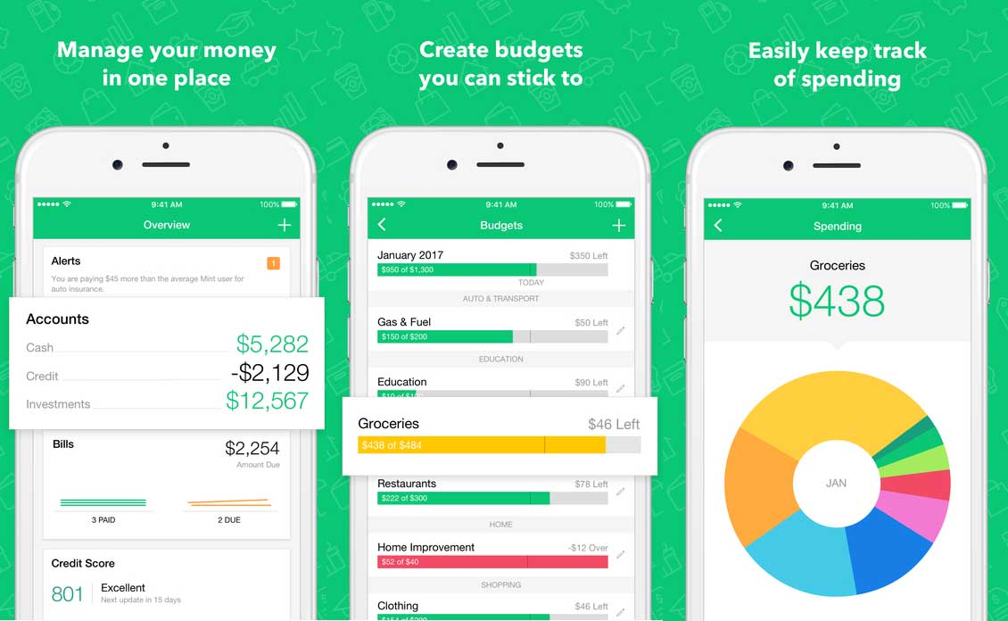 Expense tracker Apps for iPhone & iPad - [Budget App]