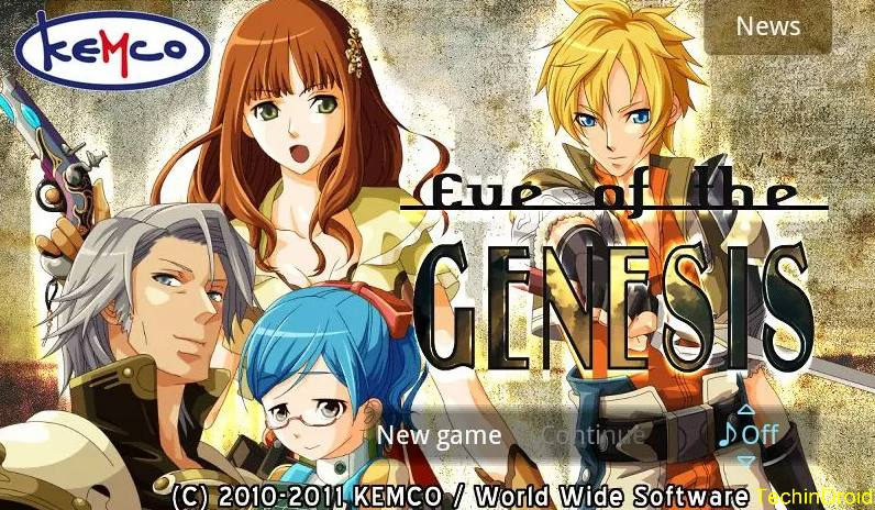RPG Eve of the Genesis HD 2017