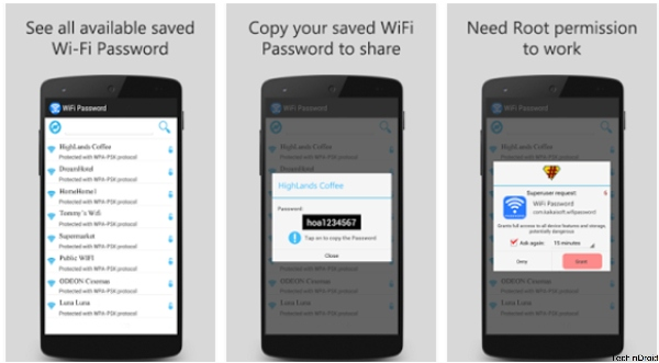how to find wifi password on cell phone