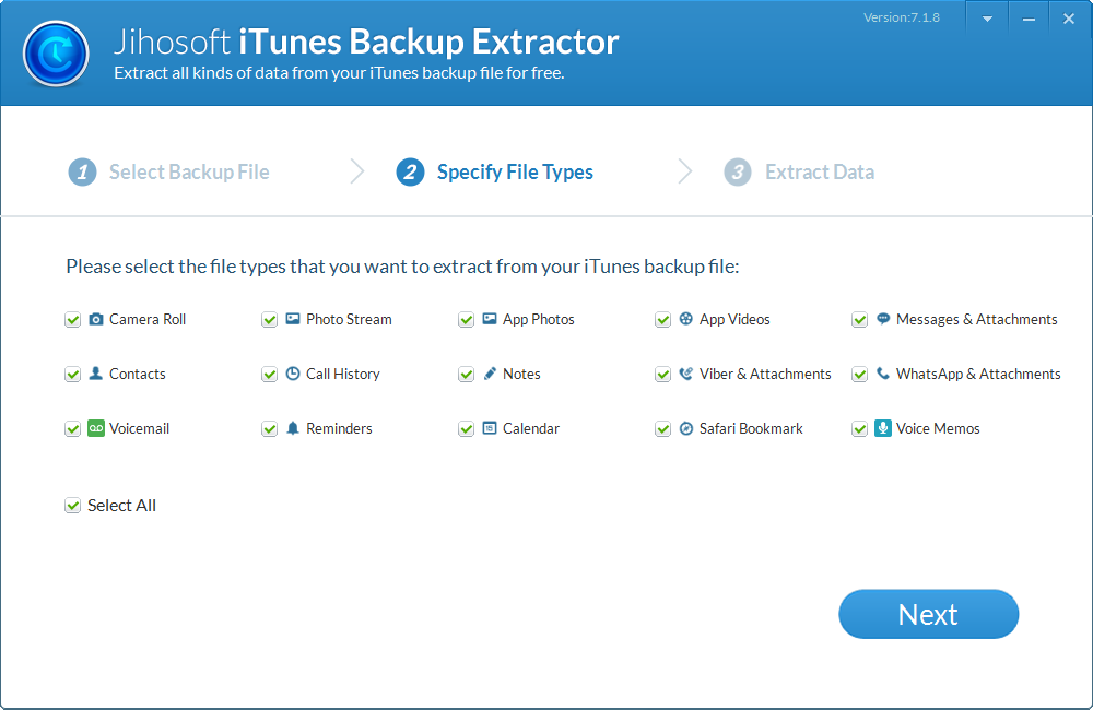 How to Extract Data from iPhone Backup