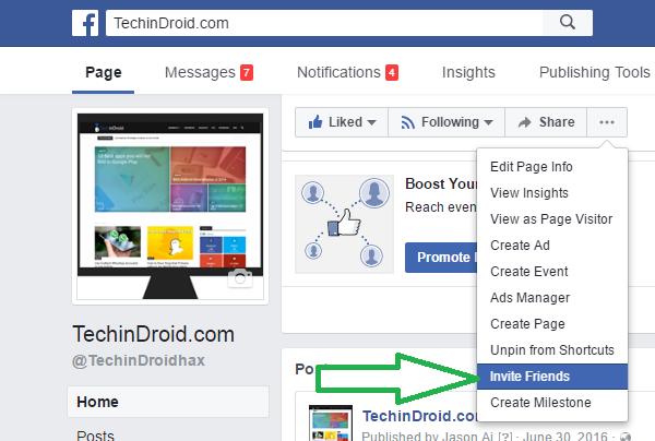 Facebook Friend Invite Chrome Extension 2017