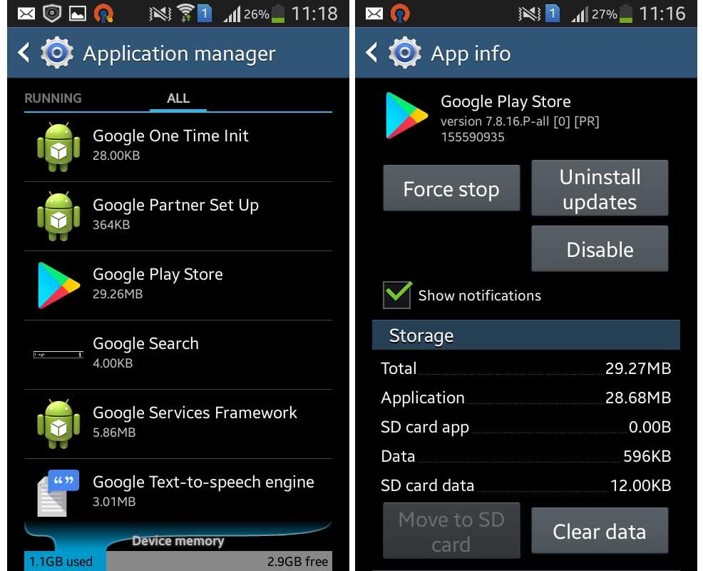 Uninstall System App Updates