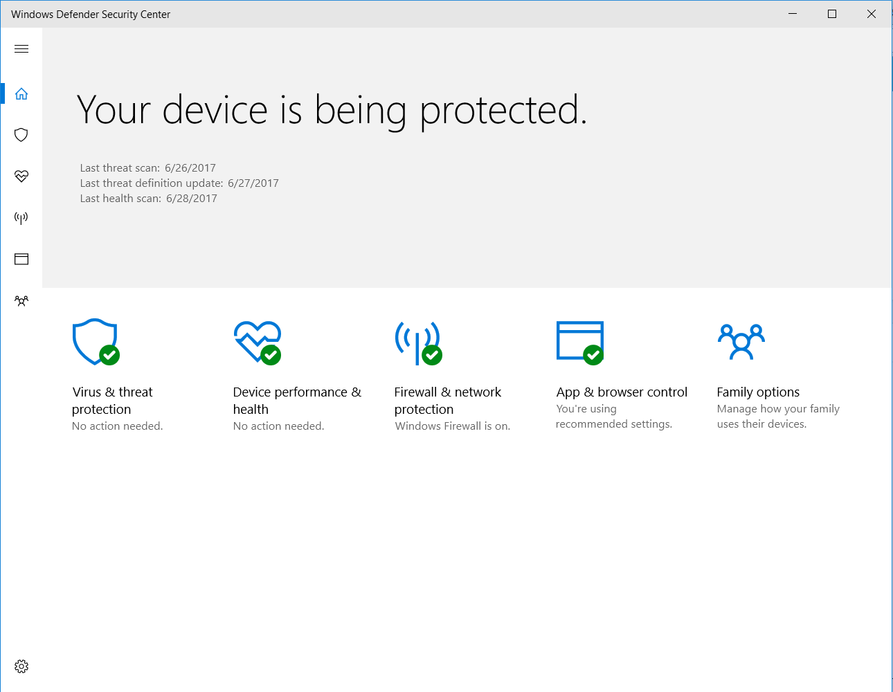Antivirus software for windows 10