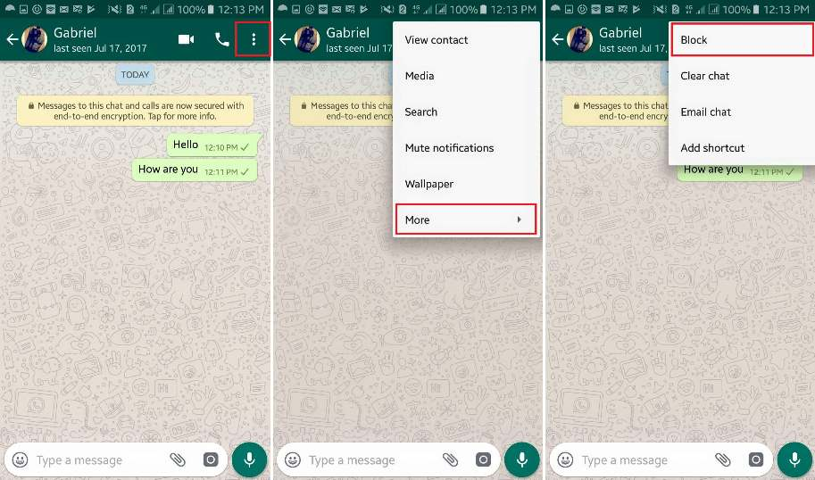 delete sent messages in whatsapp