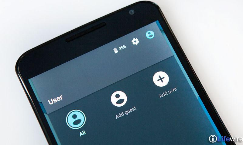 Use Guest mode (Lollipop and later versions)