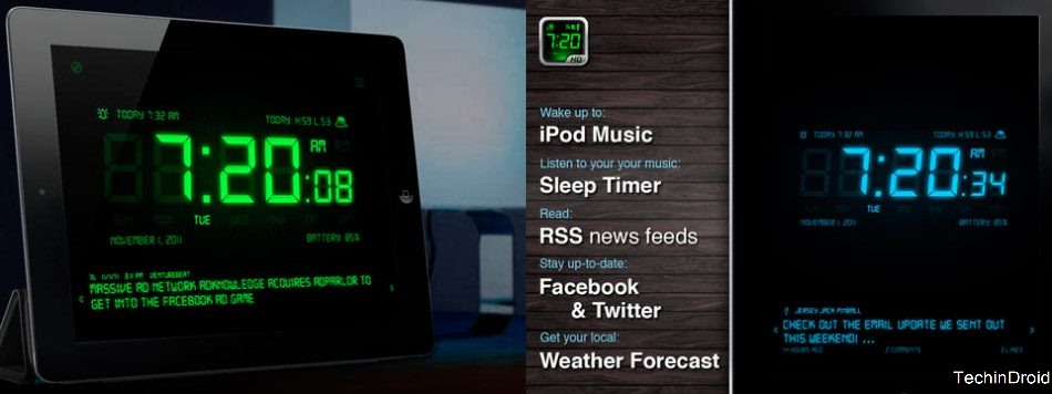 Best Alarm Clock Apps iPad 2017