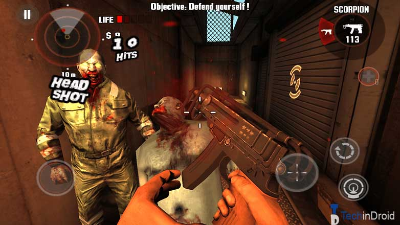 best shooting games for android without internet