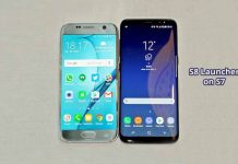 Get Samsung Galaxy S8 Launcher on S7 & S7 Edge [No root]