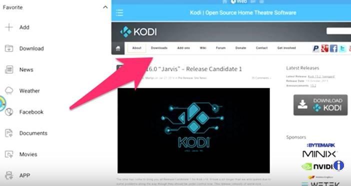 Download Kodi on Firestick / fire Tv