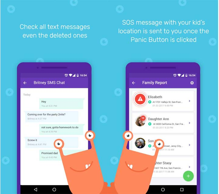 Kidgy App - your Personal Cyber Nanny