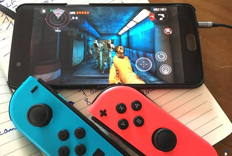 How to Play Android Games with Joy-Con Controller of the