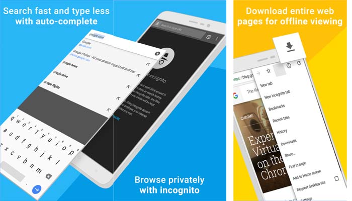 Top 5 Internet Browsers for Smartphones