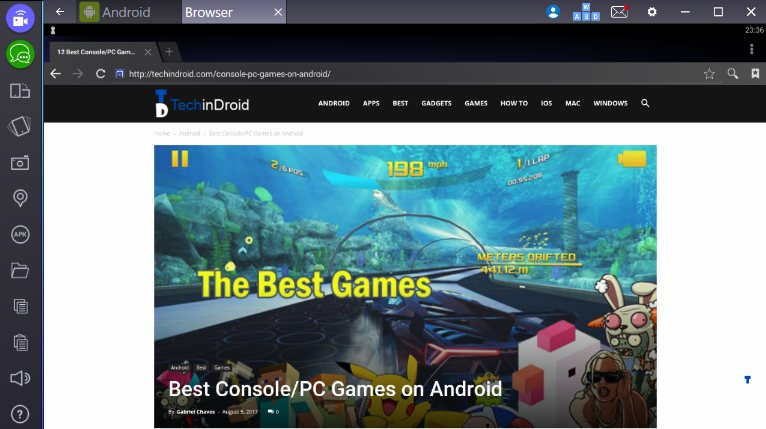 Best Android Emulators for windows, mac & linux