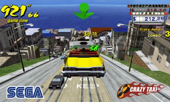 Crazy Taxi: the crazy taxi driver is back