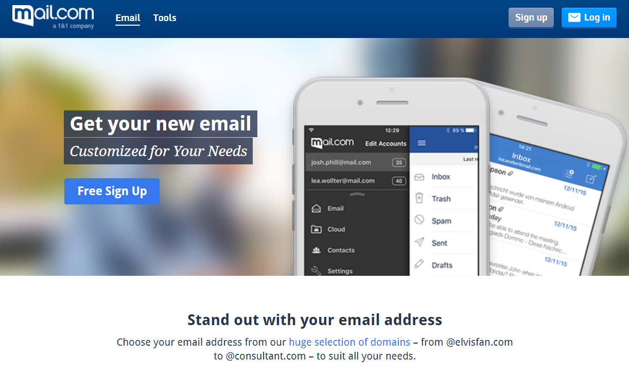 Best free Email Service providers 2017