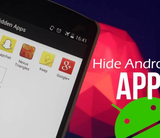 How to Hide Apps on Android without rooting