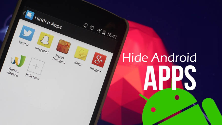 how to hide apps on android without rooting techindroid
