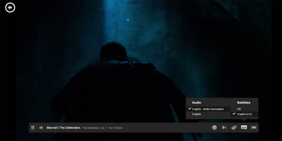 How to change Subtitles on Netflix