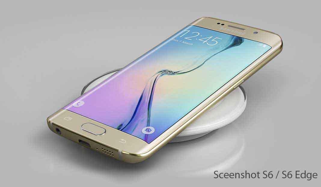 How to take a Screenshot on Samsung Galaxy S6 / S6 Edge