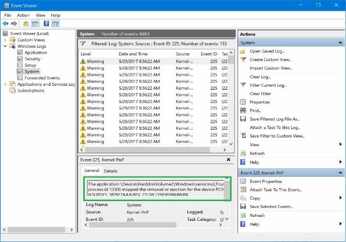Problem Ejecting USB Mass Storage Device Windows 8