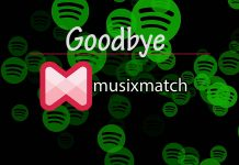 Say Goodbye to Spotify with Musixmatch lyrics