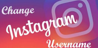 instagram username