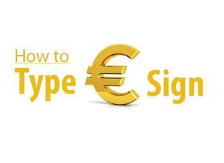 Euro-symbol-keyboard
