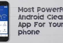 Powerful Android Cleaner App