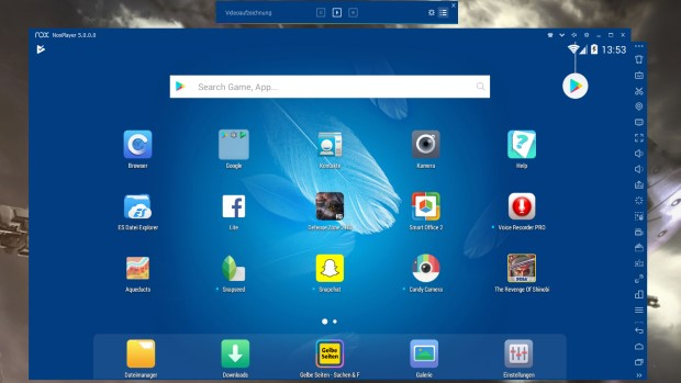 run android apps on windows 10