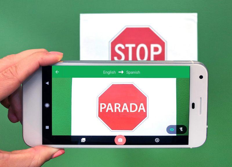 Google Translate Camera