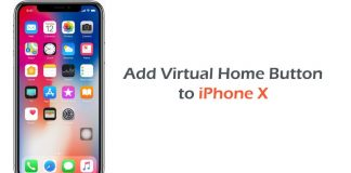 iphone floating home button