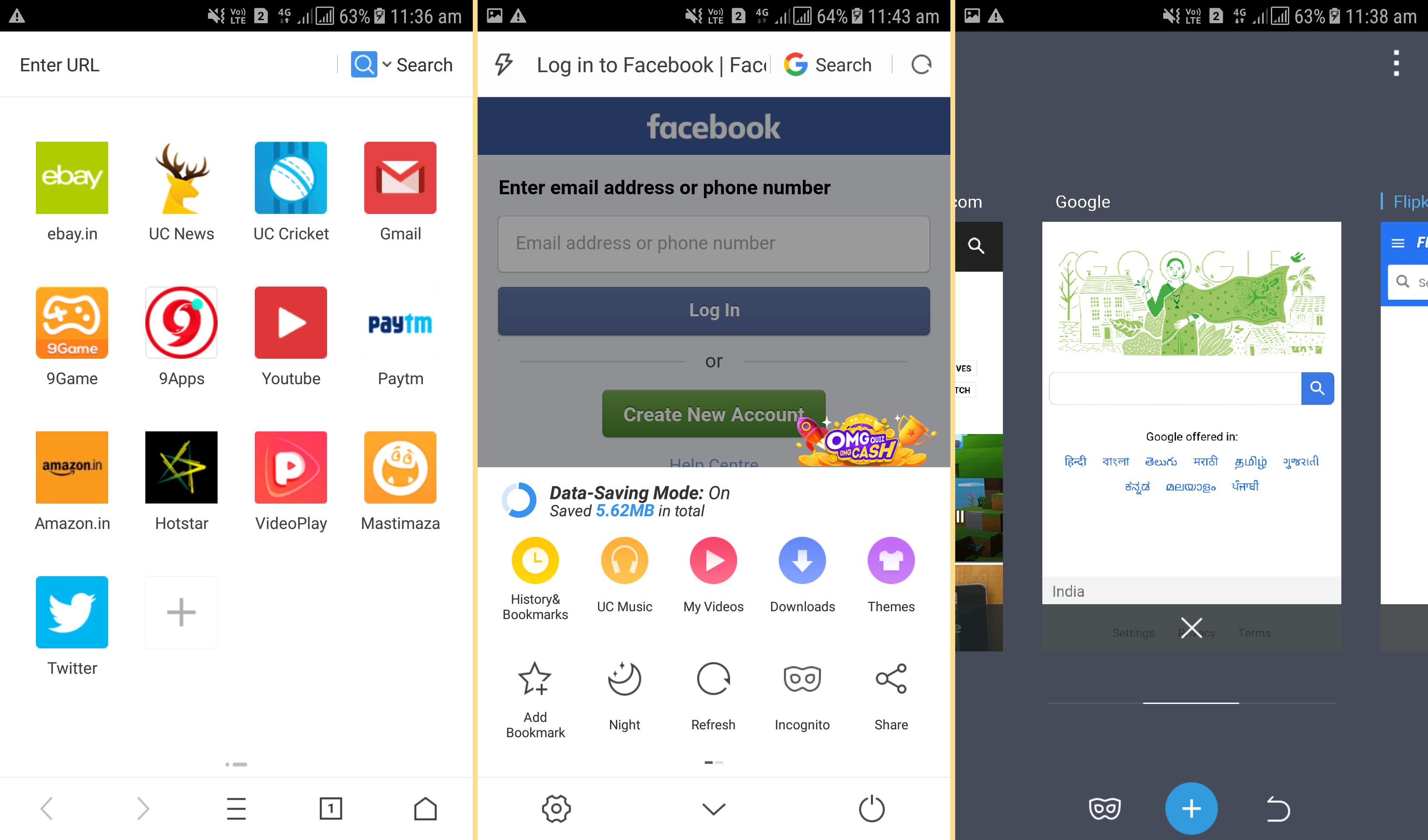 uc mini apps download 2018