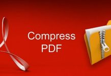 Reduce PDF file size