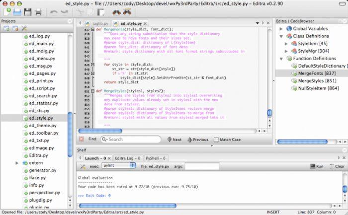 free Text editors for Mac