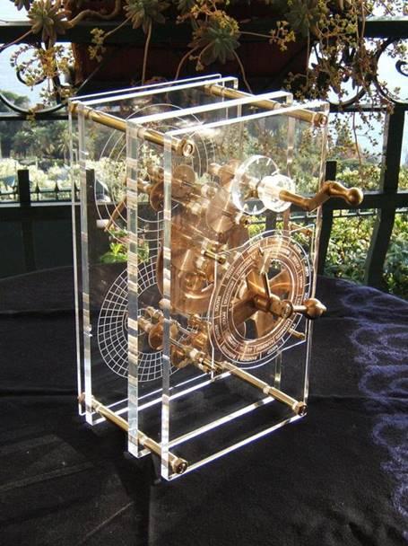 antikythera device replica
