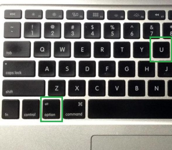 Typing accent marks