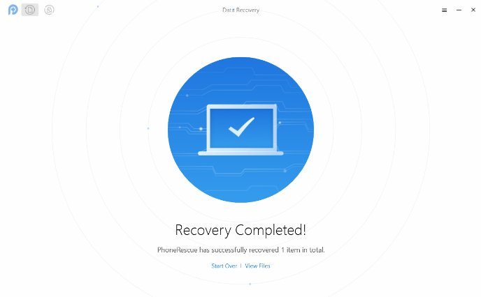 Recover Lost Text messages using PhoneRescue