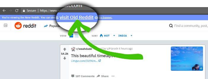 reddit old style