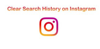 How to Clear Search history on Instagram