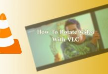 How to Rotate flip Video in VLC