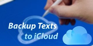 How to Backup Text Messages to iCloud