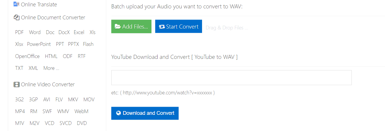 How to Convert Videos From YouTube to Wav (Online Wav Converter)