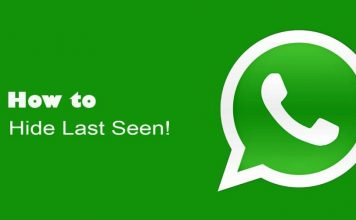 Hide Last Seen on WhatsApp