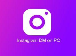 Instagram DM (Direct message) on PC