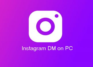 Instagram DM (Direct message) on PC